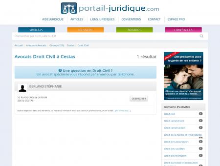 Avocat Cestas - Droit Civil