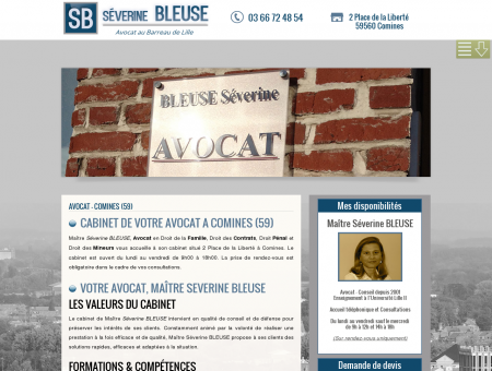 Avocat Comines (59) - Proche Tourcoing -...