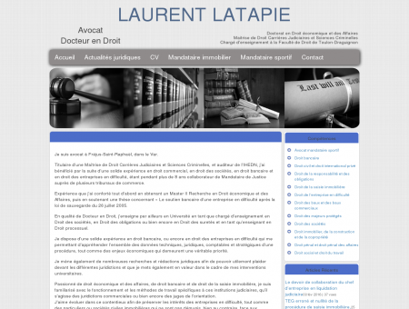 Maitre Laurent LATAPIE Avocat au Barreau de...
