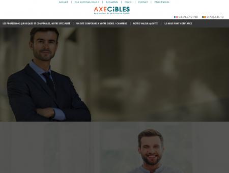 Axecibles agence web avocat, création site...