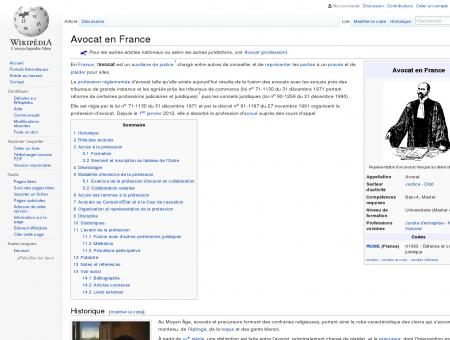 Avocat en France  Wikipédia