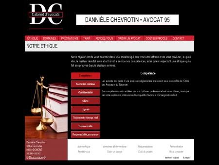 Avocat Val d'Oise - Danielle Chevrotin -...