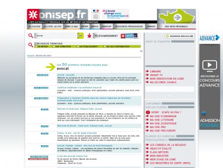 Recherche de avocat - Onisep