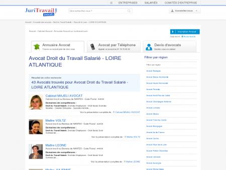 Avocat Droit du Travail Salarié - LOIRE...