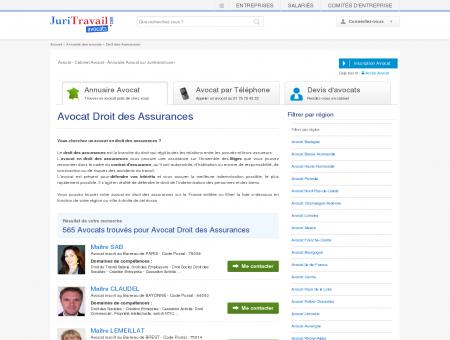 Avocat Droit des Assurances - Juritravail : droit...