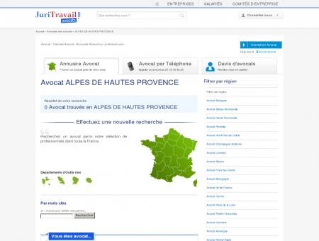 Avocat ALPES DE HAUTES PROVENCE 04 -...