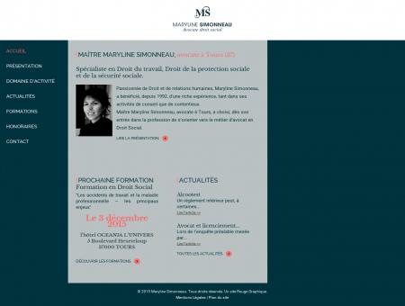 Maryline Simonneau - Avocat droit social Tours...