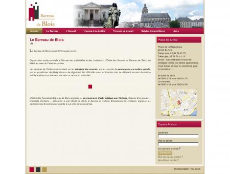 Accueil - Ordre des avocats du barreau de Blois