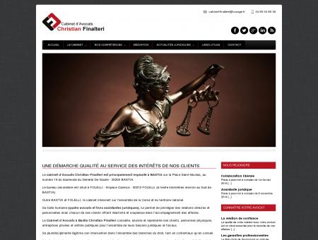 Cabinet avocat - Bastia, Corse - Christian Finalteri