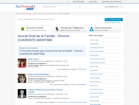 Avocat Droit de la Famille - Divorce -...