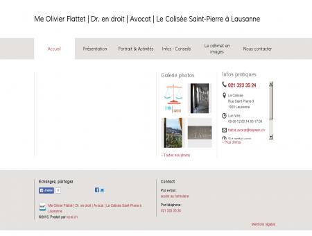 Me Olivier Flattet | Dr. en droit | Avocat | Le...