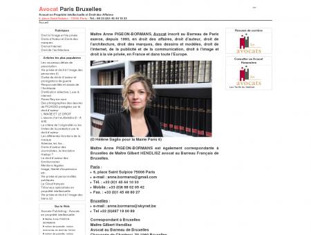 Avocat Paris Bruxelles - Avocat en Propriété ...