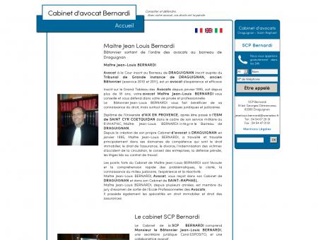 Cabinet d'avocat Bernardi