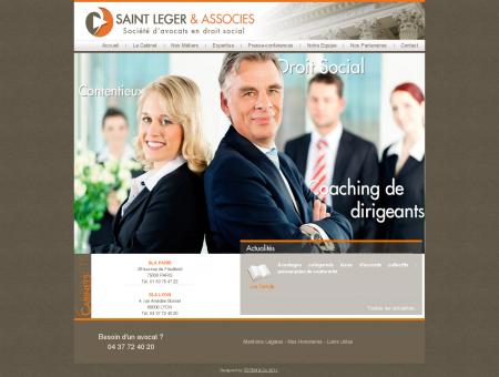 Saint Léger & Associés - Accueil
