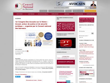 1er Congrès Des Avocats sur le thème «...
