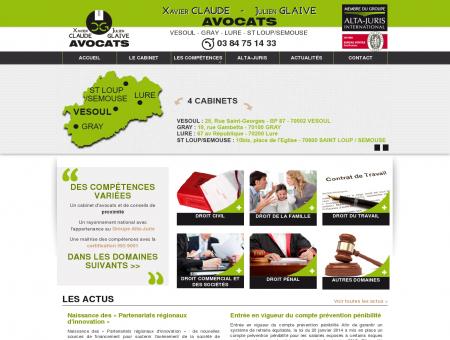 Avocats Claude et Glaive - Haute-Saône