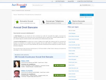 Avocat Droit Bancaire - Juritravail : droit du...