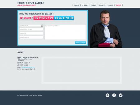 Contact - Cabinet IOSCA Avocat - AVOCAT...