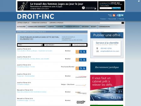 Offres_d_emploi | Droit Inc.