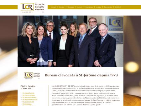 LGR Avocat, Bureau d'Avocats à St-Jérôme et...