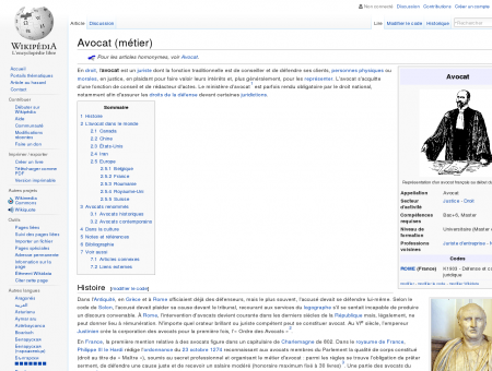 Avocat (métier)  Wikipédia