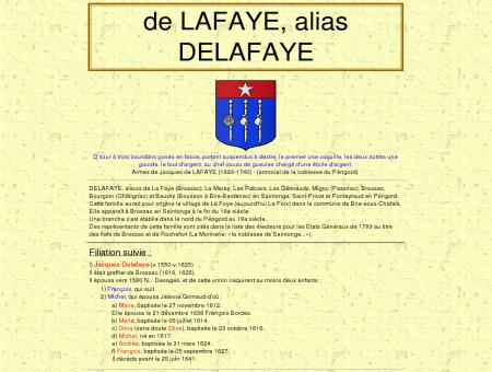 delafaye