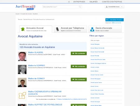 Avocat Aquitaine - Juritravail : droit du travail...