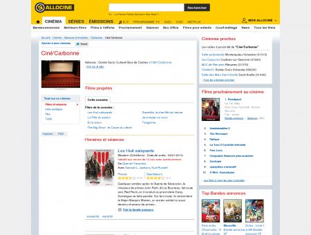 Ciné'Carbonne (cinéma à Carbonne) :...