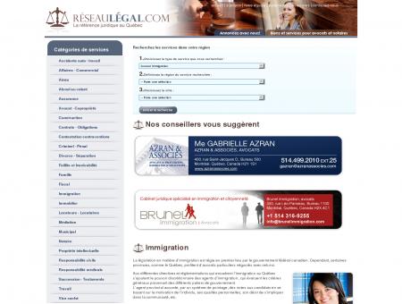 Avocat Immigration - Réseau Légal - Avocats...