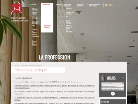 Protection juridique - La profession d'avocat -...