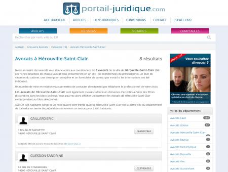 Avocat à Hérouville-Saint-Clair (14)