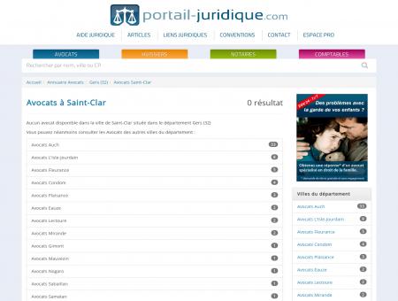 Avocat à Saint-Clar (32)