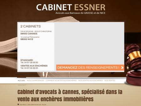 Cabinet avocat Cannes : vente aux enchères...