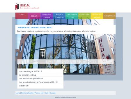 Hedac - Haute école des Avocats Conseils