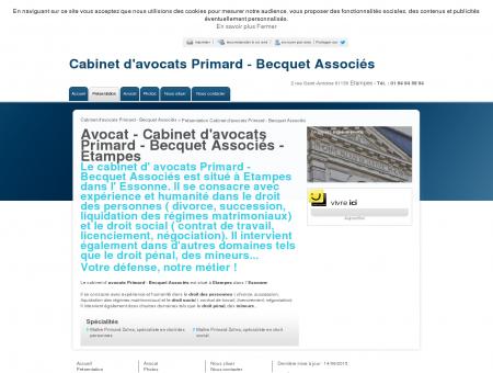 Avocat - Cabinet d'avocats Primard - Becquet...