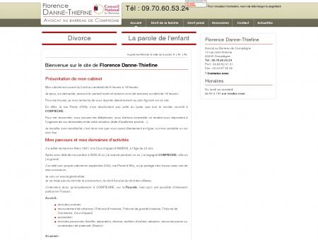 Avocat Compiègne, droit de la famille   Oise - 60