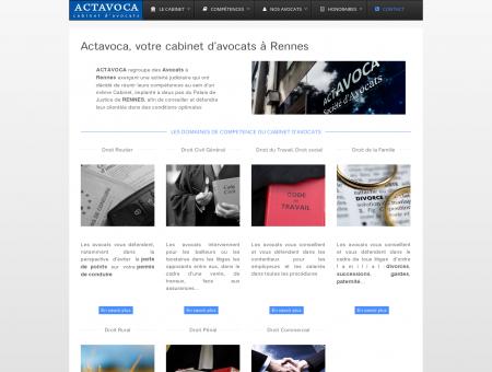 Avocat Rennes - cabinet d'avocats ACTAVOCA...