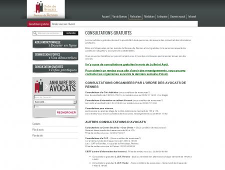 Consultations gratuites | Ordres des Avocat -...
