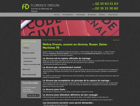 Avocat divorce Rouen: droit famille Mont...