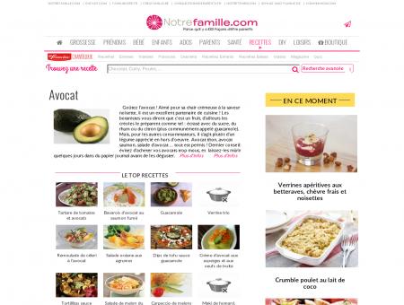Avocat - Recette Avocat - Idées recettes autour...