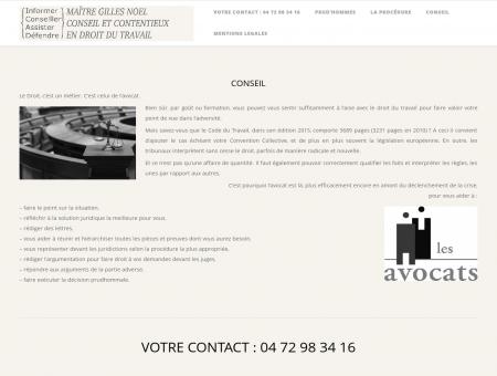 Maître Gilles Noel, avocat à Lyon| Conseil et ...