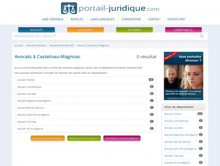Avocat à Castelnau-Magnoac (65)