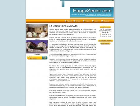 LA MAISON DES AVOCATS - HAPPYSENIOR -...