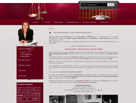 Avocat sur Valenciennes - Maitre Betty RYGIELSKI
