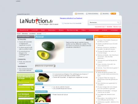 Avocat - Avocat - LaNutrition.fr - Guide...