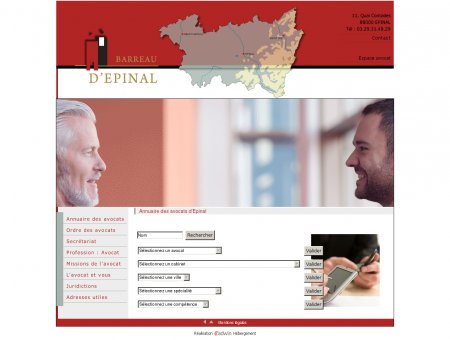 Ordre des avocats du Barreau d'Epinal