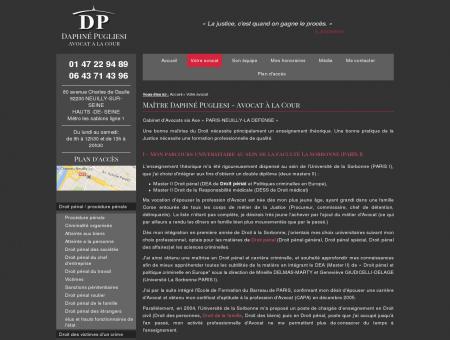 Daphné Pugliesi, avocat conseil de...