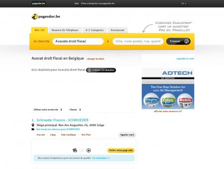 Avocat droit fiscal en Belgique | pagesdor.be
