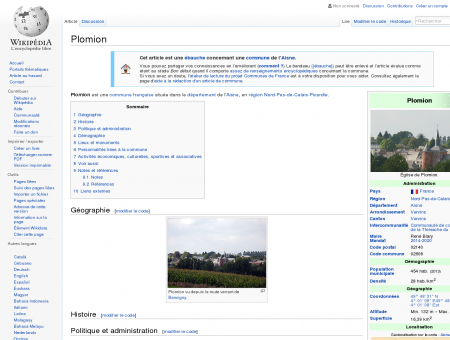 Plomion  Wikipédia