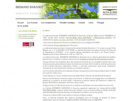 Bremard Baradez Avocats associés à Savigny...